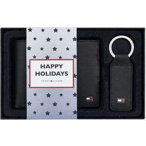 Tommy Hilfiger Darčeková sada kožené peňaženky a prívesku Eton Cc And Coin Pckt Keyfob Box AM0AM01183002