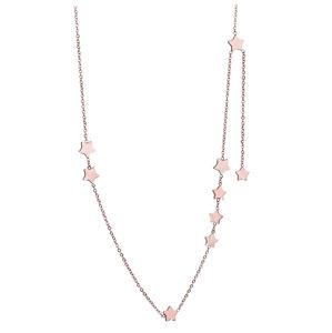 Troli Bronzový náhrdelník s hviezdičkami