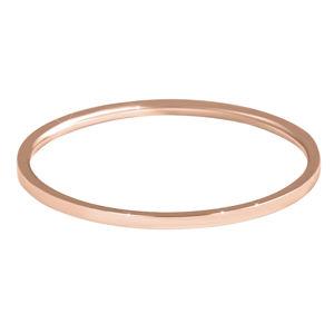 Troli Elegantný minimalistický prsteň z ocele Rose Gold
