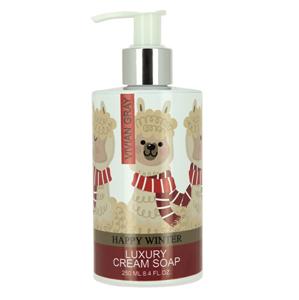Vivian Gray Krémové mydlo Happy Winter (Luxury Cream Soap) 250 ml