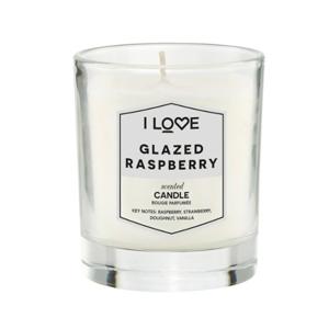 I Love Vonná sviečka Glazed Raspberry 200 g
