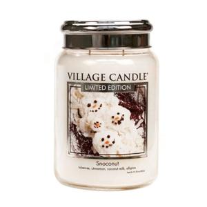 Village Candle Vonná sviečka v skle Kokosový sneh (Snoconut) 602 g