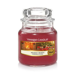 Yankee Candle Vonná sviečka Classic malá Holiday Hearth 104 g