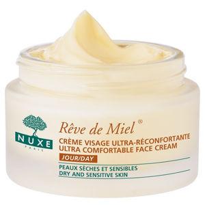 Nuxe Upokojujúci denný krém pre suchú a citlivú pleť (Reve de Miel Ultra Comfortable Face Cream) 50 ml