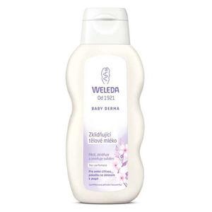 Weleda Upokojujúce telové mlieko Baby Derma 200 ml